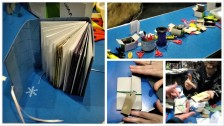 Book making workshop @ Dynamic Earth
