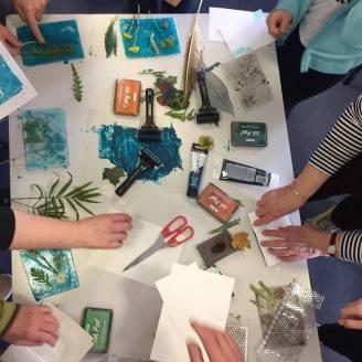 Cyanotype workshop